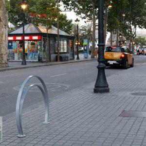 aparca bicis omega galvanizado