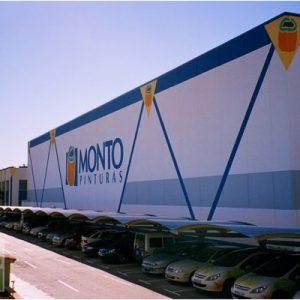 Cubiertas parking metálicos empresa pinturas Montó Valencia