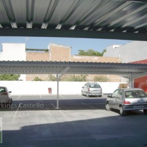 techos parking supermercados DIA