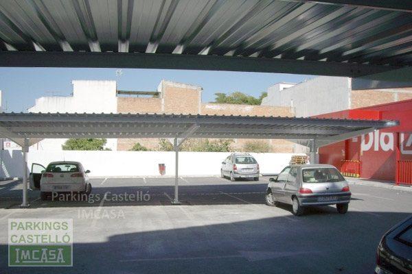 techos parking supermercados DIA