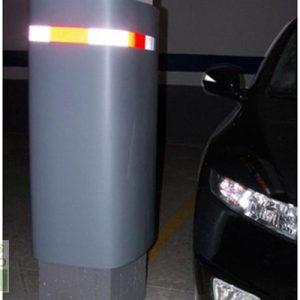 protección pilar parking