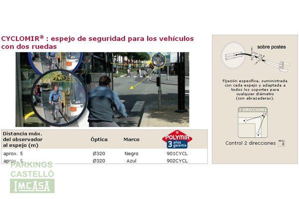 espejos seguridad vial