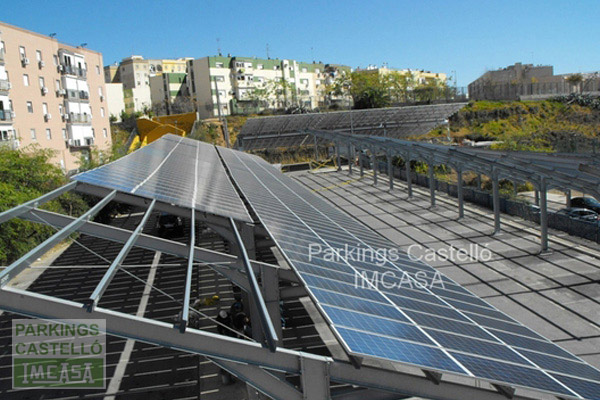parking solar Sevilla