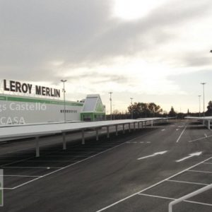 chapas aparcamiento Córdoba Leroy Merlin
