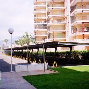 marquesina apartamentos Benicasim