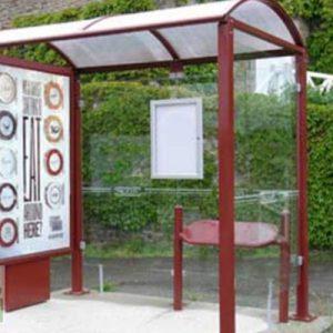 marquesina parada bus