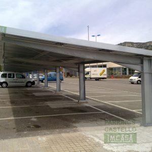 Marquesina autopista L'Hospitalet de l'Infant Tarragona