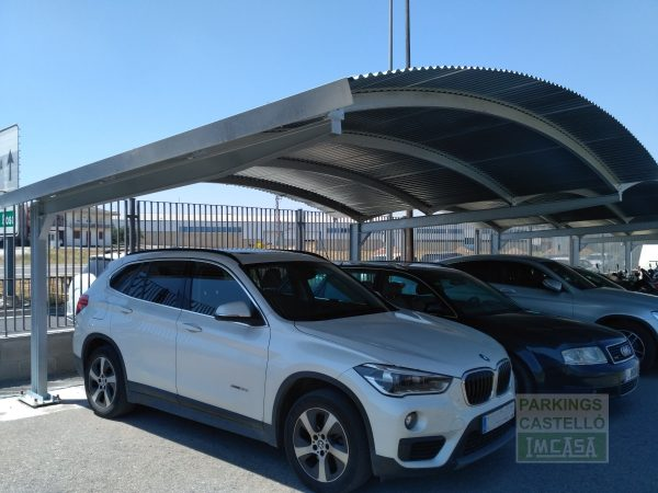 Parking coches bóveda Lleida
