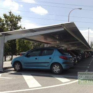 Techos parking cajón Universidad Murcia