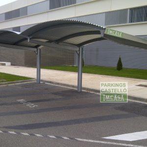 Marquesina Parking Boveda Universidad Publica de Navarra