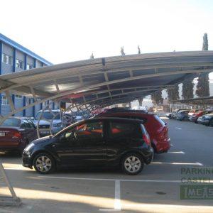 Marquesina curva empresa Tarragona