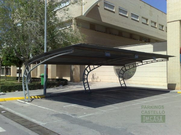 Marquesina taxis Hospital General Castellon