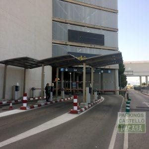 Skiatsu Entrada-salida vehiculos aeropuerto Palma