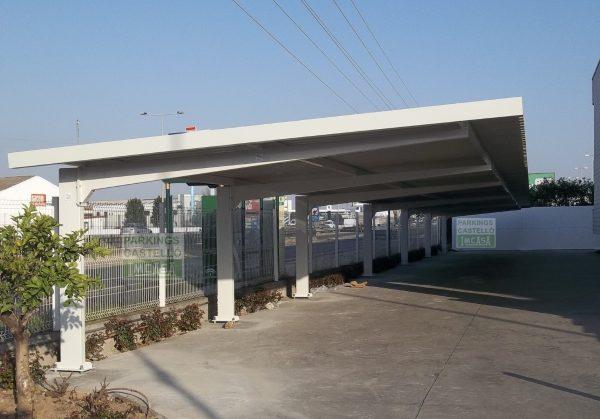 Marquesina parking VIGA-CAJON Sevilla