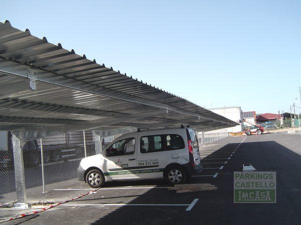 Marquesina parking VIGA-CAJON Burgos