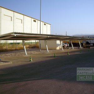 Pergola parking Zaragoza