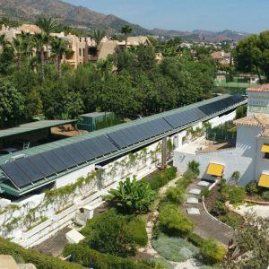 Parking Solar Marbella imcasa