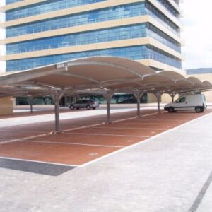 marquesina parking Mapfre Murcia