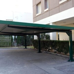 Marquesina parking Benicasim