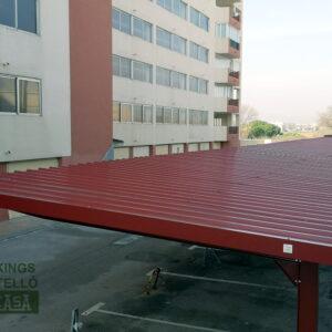 Cubierta aparcamiento en Peñíscola