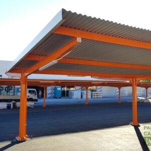 Marquesinas parking Consum Valencia