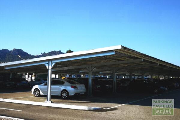 Marquesina solar fotovoltaica