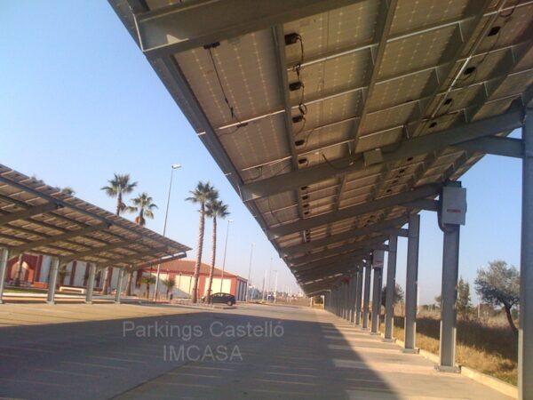Pérgola solar en Sevilla