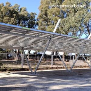 Marquesina aparcamiento Lamas Valencia